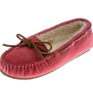 Minnetonka Moccasins Suede Leather Moccasins
